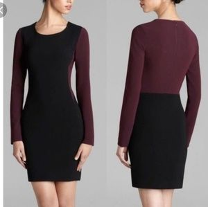 Diane Von Furstenberg Octavia color Block Dress